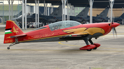 RJF 02 - Extra 330LX - Royal Jordanian Falcons