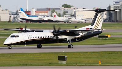 A picture of CFDGP - De Havilland Canada Dash 8400 - North Caribou Flying Service - © C. v. Grinsven