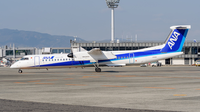 A picture of JA848A - De Havilland Canada Dash 8400 - All Nippon Airways - © Tsumugu Ono