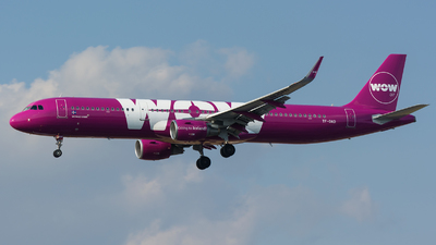 TF-DAD - Airbus A321-211 - WOW Air