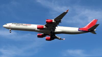 9H-NHS - Airbus A340-642 - European Cargo (Maleth Aero)