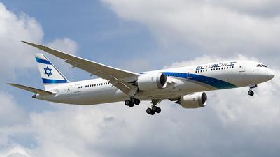 A picture of 4XEDK - Boeing 7879 Dreamliner - El Al - © JC Pascual - Philippine Aviators
