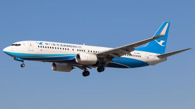 A picture of B1355 - Boeing 73785C - Xiamen Air - © Aircraft carrier FX
