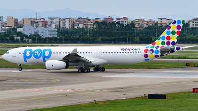 VP-CUF - Airbus A330-343 - Flypop Airlines