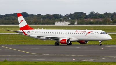 OE-LWE - Embraer 190-200LR - Austrian Airlines