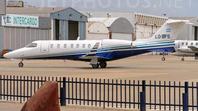 A picture of LQBFS - Learjet 40 - [452003] - © Ruben Pablo Nieves - Interdefensa