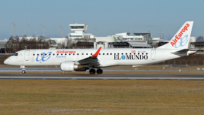 EC-LCQ - Embraer 190-200LR - Air Europa Express