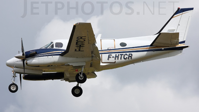 F-HTCR - Beechcraft C90GTi King Air - Private