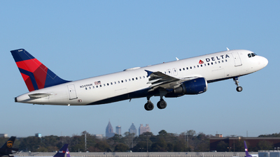 A picture of N349NW - Airbus A320212 - Delta Air Lines - © Kevin Porter