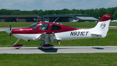 N931CT - Cirrus SR22 - Private