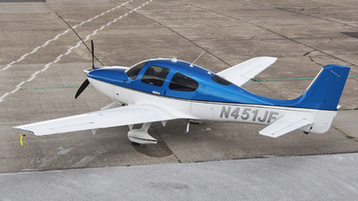 N451JF - Cirrus SR22 - Private