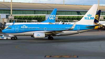 A picture of PHBGO - Boeing 7377K2 - KLM - © La Roche Spotters