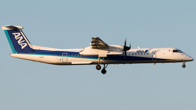 JA843A - Bombardier Dash 8-Q402 - All Nippon Airways (ANA)