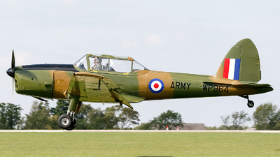 A picture of GHDAE - De Havilland Canada DHC1 Chipmunk - [C1/0280] - © mark p