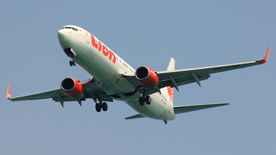 PK-LHK - Boeing 737-9GPER - Lion Air