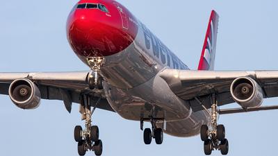 HB-JME - Airbus A340-313X - Edelweiss Air