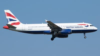 G-EUYF - Airbus A320-232 - British Airways
