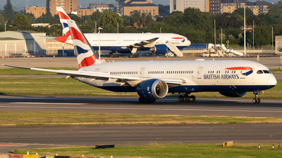 A picture of GZBKJ - Boeing 7879 Dreamliner - British Airways - © Ethan Sewell