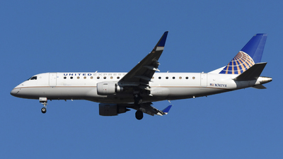 A picture of N747YX - Embraer E175LR - United Airlines - © DJ Reed - OPShots Photo Team