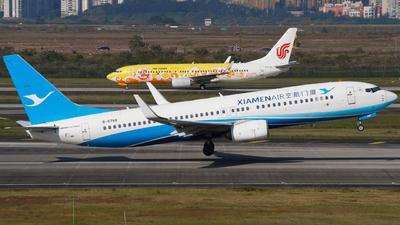 A picture of B5788 - Boeing 73785C - Xiamen Air - © ZUCKGYQ