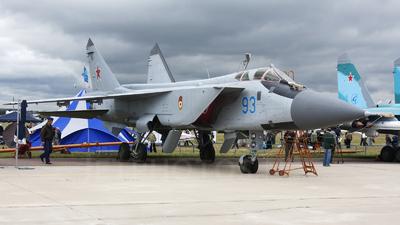 93 - Mikoyan-Gurevich MiG-31BM Foxhound - Russia - Air Force