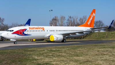 OK-TVF - Boeing 737-8FH - Sunwing Airlines (Travel Service)