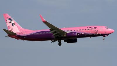 A picture of HSEEE - Boeing 73786J - [37758] - © Eddie Heisterkamp