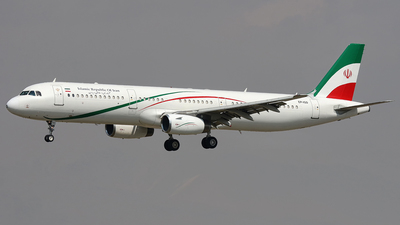EP-IGD - Airbus A321-231 - Iran - Government