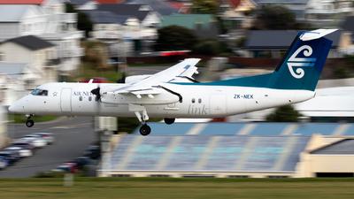 A picture of ZKNEK - De Havilland Canada Dash 8300 - Air New Zealand - © Jack Walker