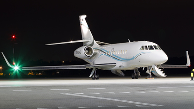 OO-GHE - Dassault Falcon 2000EX - Abelag Aviation