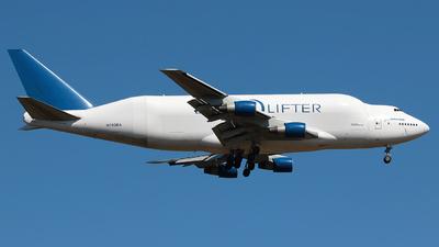 N780BA - Boeing 747-409(LCF) - Boeing Company