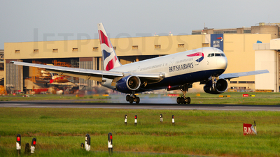 G-BNWY - Boeing 767-336(ER) - British Airways