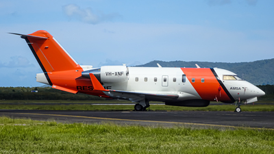 VH-XNF - Bombardier CL-600-2B16 Challenger 604 - Australia - Maritime Safety Authority (MSA)