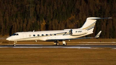 M-VRNY - Gulfstream G550 - Private