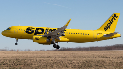 A picture of N645NK - Airbus A320232 - Spirit Airlines - © Davin Amy