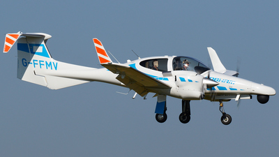 G-FFMV - Diamond DA-42 MNG - Cobham Aviation Services