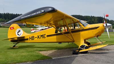 A picture of HBKME - Aviat A1A Husky - [1443] - © Mirko Bleuer