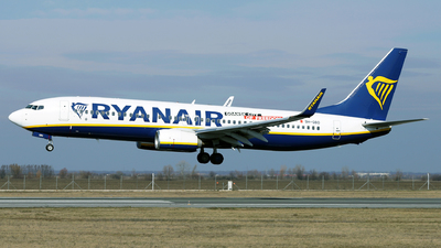 A picture of 9HQBD - Boeing 7378AS - Ryanair - © Marin Ghe.