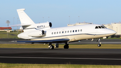 N247CJ - Dassault Falcon 900B - Private