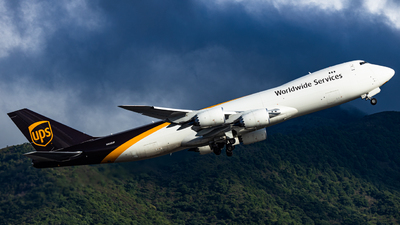 A picture of N622UP - Boeing 7478F - UPS - © Angus Chae - Skies of Pearl