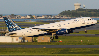 N558JB - Airbus A320-232 - jetBlue Airways