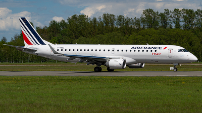 A picture of FHBLL - Embraer E190STD - Air France - © Niclas Rebbelmund