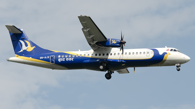 A picture of 9NAJX - ATR 72500 - Buddha Air - © OSDU