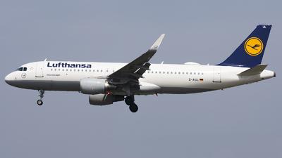 D-AIUL - Airbus A320-214 - Lufthansa