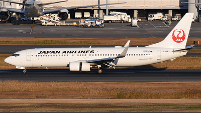 JA324J - Boeing 737-846 - Japan Airlines (JAL)