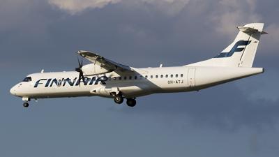 OH-ATJ - ATR 72-212A(500) - Finnair (Nordic Regional Airlines NORRA)