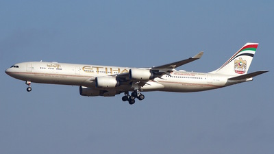 A6-EHD - Airbus A340-541 - Etihad Airways