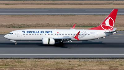 A picture of TCLCN - Boeing 737 MAX 8 - Turkish Airlines - © Ömür Sadikoglu