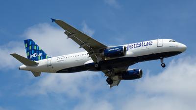 N643JB - Airbus A320-232 - jetBlue Airways