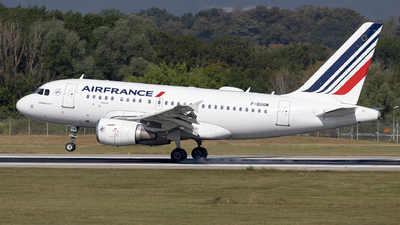 A picture of FGUGM - Airbus A318111 - Air France - © Dranob